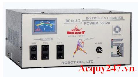 Kích điện Robot 500VA (12V - 220V) Inverter